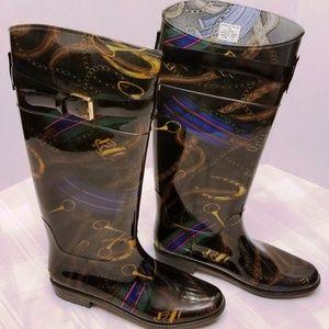 "NWOB. Ralph Lauren ""Rosalyn II"" Rain Boots Size 8b"